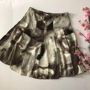 New York & Co Marble Skater mini skirt